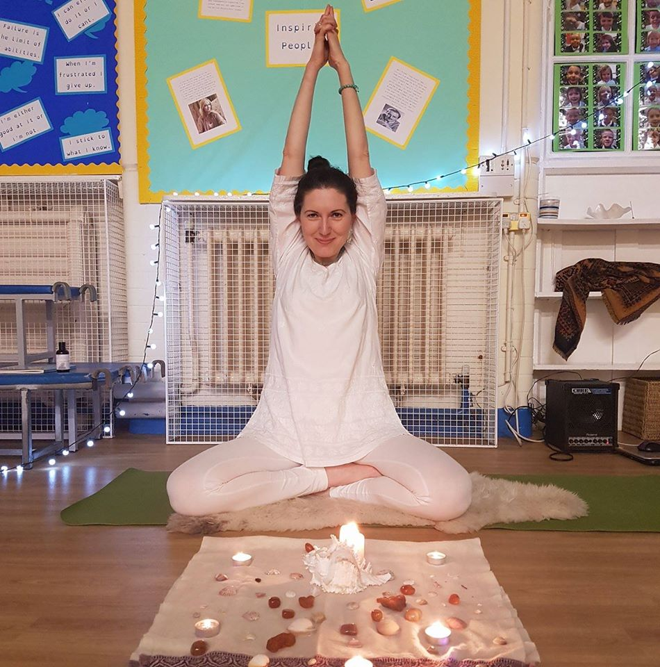 Kundalini yoga teacher